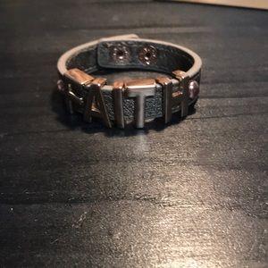 "Bcbgeneratiom ""Faith"" bracelet"
